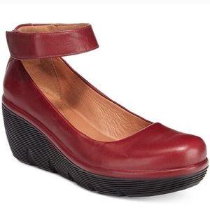 Clarks Artisan Clarene Tide Ankle-Strap Pumps